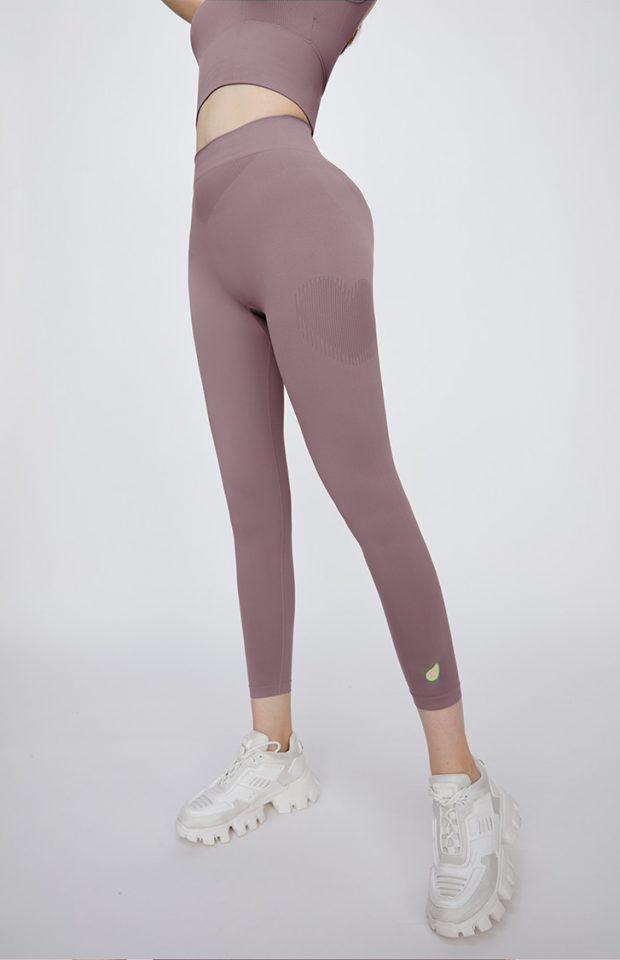 """""""心动""""牛油果美白瘦腿裤紫色均码"""