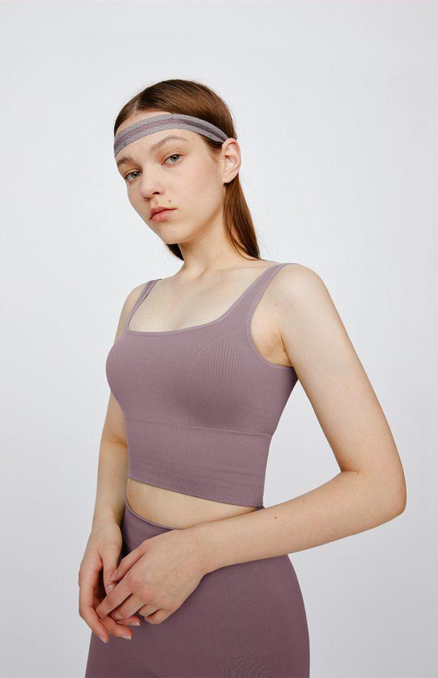"""""""心动""""牛油果美白运动bra紫色均码"""